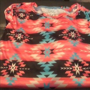 Crazy Train side knot top